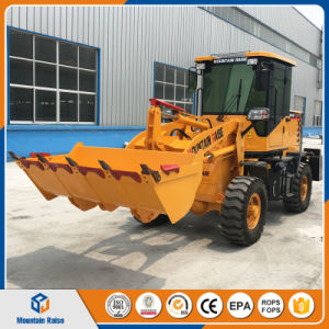 Cheapest Price 1000kg Small Wheel Loader with High Quality pictures & photos