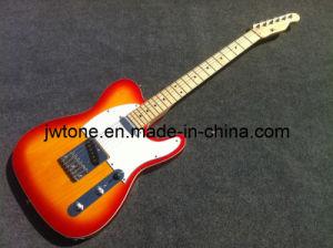 Cherry Burst Color Tele Electric Guitar pictures & photos