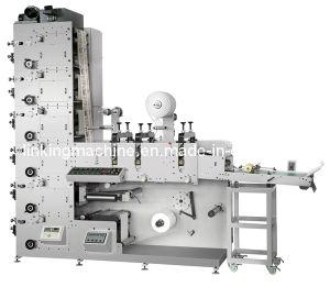 Adhesive Label (logo) Printing Machine Flexographic Printer pictures & photos