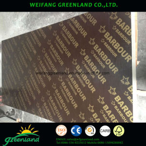 12mm Two Time Hot Press Quality Fillm Faced Plywood with Brown Film pictures & photos