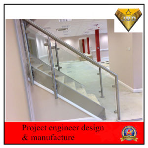 Side Mounting Indoor Glass Handrail Balustrade (JBD-Z17) pictures & photos
