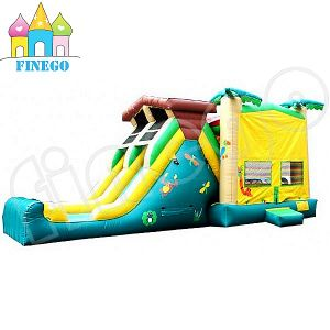 Inflatable Jungle Center Slide Giant Inflatable Slide pictures & photos