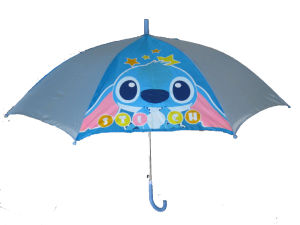 19inch Silk Screen Printing Kids Umbrella (CU008) pictures & photos
