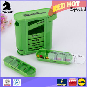 Weekly Hot Selling LFGB Pill Box Pill Dispenser pictures & photos