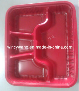 Red Plastic Service Plate (HL-157) pictures & photos
