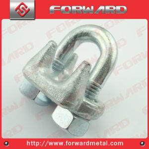 Us Type Drop Forged Wire Rope Clip Steel Cable Clamp pictures & photos