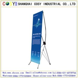 Light Weight X Banner Stand with Fashion Style for Display pictures & photos