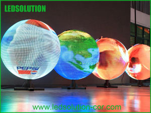 Portable Indoor LED Sphere Display/LED Ball Video Display pictures & photos