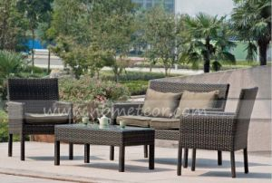 Outdoor Rattan Furniture Modern Leisure Patio Garden Sofa pictures & photos