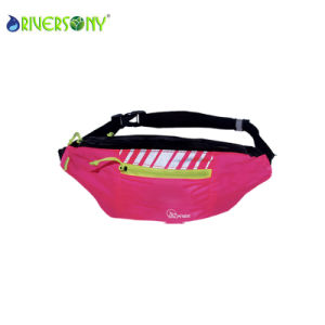 Polyester Pink Small Waist Bag pictures & photos