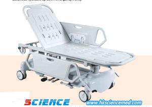 Luxurious Hydraulic up/Down Emergency Trolley pictures & photos