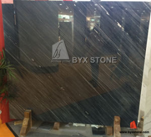 Chinese Black Vein Marble Slab for Wall Cladding Tile pictures & photos