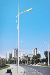Single Arm Street Lighting Pole