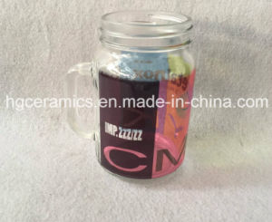 16oz Sublimation Mason Jar, Round Shape, 16oz Mason Jar Glass Mug, 16oz Sublimation Glass Mug pictures & photos