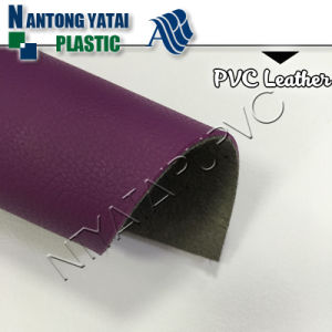 Colorful PVC PU Rexine Leather for Sofa with Cheap Price