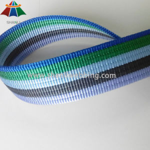 35mm Striped Twisted Nylon Grooved Webbing pictures & photos