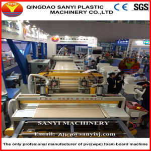 CE Certified Wood Plastic Composite Machine/PVC Foam Board Extrusion Line pictures & photos