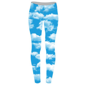 Custom Womens All Over Print Sublimation Leggings as Your Demands pictures & photos