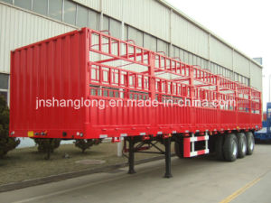 13 Meters Three Axles 50ton Cargo Box Trailer pictures & photos