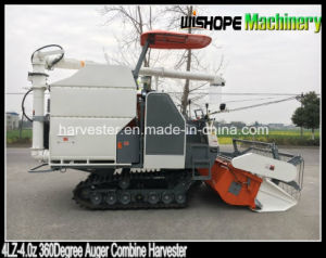 Copy Kubota 360 Degree Rice Unloading Auger Grain Combine Harvester pictures & photos