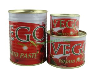 Aseptic and Organic Tomato Paste (size 210 g OEM brand) pictures & photos
