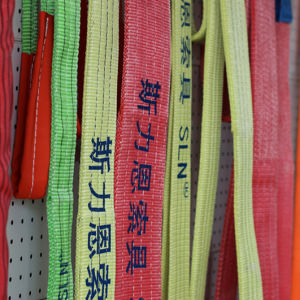 Polyester Lifting Sling 1t-20t Webbing Sling En1492 CE GS Webbing pictures & photos