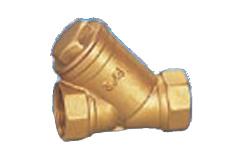 Brass Y-Strainer Brass Y-Filter pictures & photos