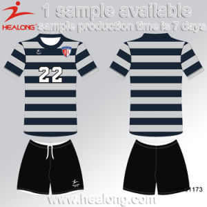Healong Best Design Dye Sublimation Training Soccer Jerseys pictures & photos