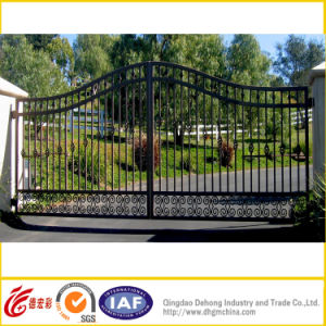 Hand-Made Wrought Iron Gate/Garden Gate/Luxury Wrought Iron Gate pictures & photos