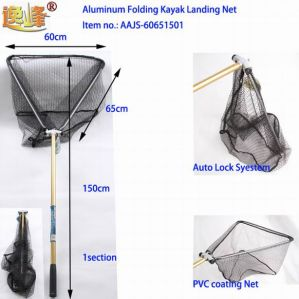 Kayak Landing Net with Rubberized Net Material