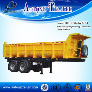 China Manufacturer High Quaility Side Dump Tipper Truck Semi Trailer pictures & photos