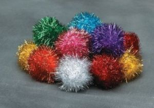 Factory Cheap Price POM Poms-Glitter pictures & photos