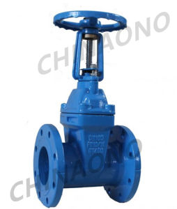 DIN Cast Iron Soft Seal Gate Valve pictures & photos