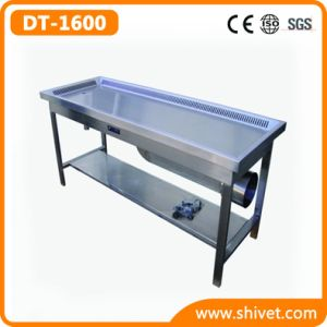 Middle Type Veterinary Dissection Table (DT-1600) pictures & photos