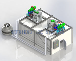 Industrial Flake Ice Plant with Storage pictures & photos