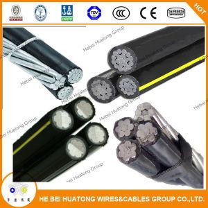 ABC Cable Aluminum Conductor XLPE Insulated ABC Cable, Overhead Aerial Bundle Cable, Douplex/Triple/Quadruplex Service Drop Cable ABC Cable, Urd Cable, Ud Cable pictures & photos