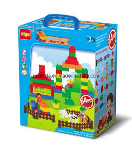 Garden School Farm Police Puzzle Toy Bricks for Educational Toy
