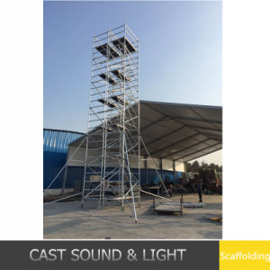 Approved Movable Scaffolding Aluminum Towers for Sale pictures & photos