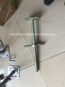 Jack Base Scaffolding Screw Jack with Base pictures & photos