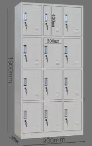 12-Door Multi Grid Steel File Cabinet Office Furniture pictures & photos