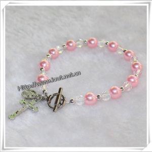 Catholic Rosary Bracelets with Cross Wholeale, Bracelets (IO-CB130) pictures & photos
