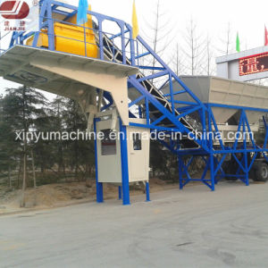 Mobile Concrete Batching Plant (YHZS40) pictures & photos