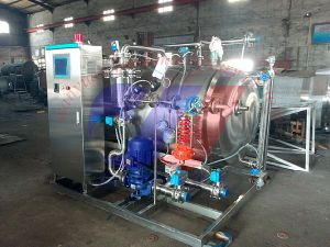 Full Automatic Control Cabinet Steam Heating Sterilization Pot pictures & photos