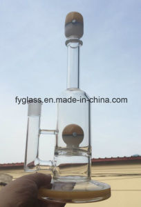 16inch Glass Water Pipe with Hot Selling Mix USA Color Glass Smoking Pipe pictures & photos