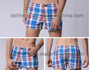 100% Cotton Yarn Dyed Men′s Beach Short Fabric pictures & photos