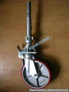 Cuplock Scaffolding Caster Adapter Scaffold pictures & photos