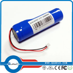 Protected 18650 3.7V 2400mAh Rechargeable Lithium Batteries pictures & photos