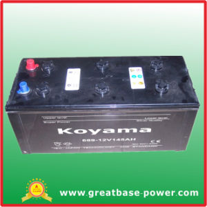 High Quality SMF Batteries 689-154ah 12V Heavy Duty Vehicle Car Battery pictures & photos