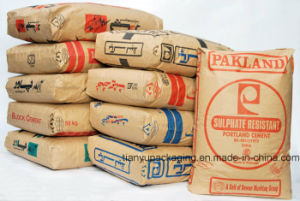 Self-Leveling Mortar Kraft Paper Valve Bag 20kg pictures & photos