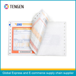 Carbonless Paper Logistic Waybill with Various Colors Printing